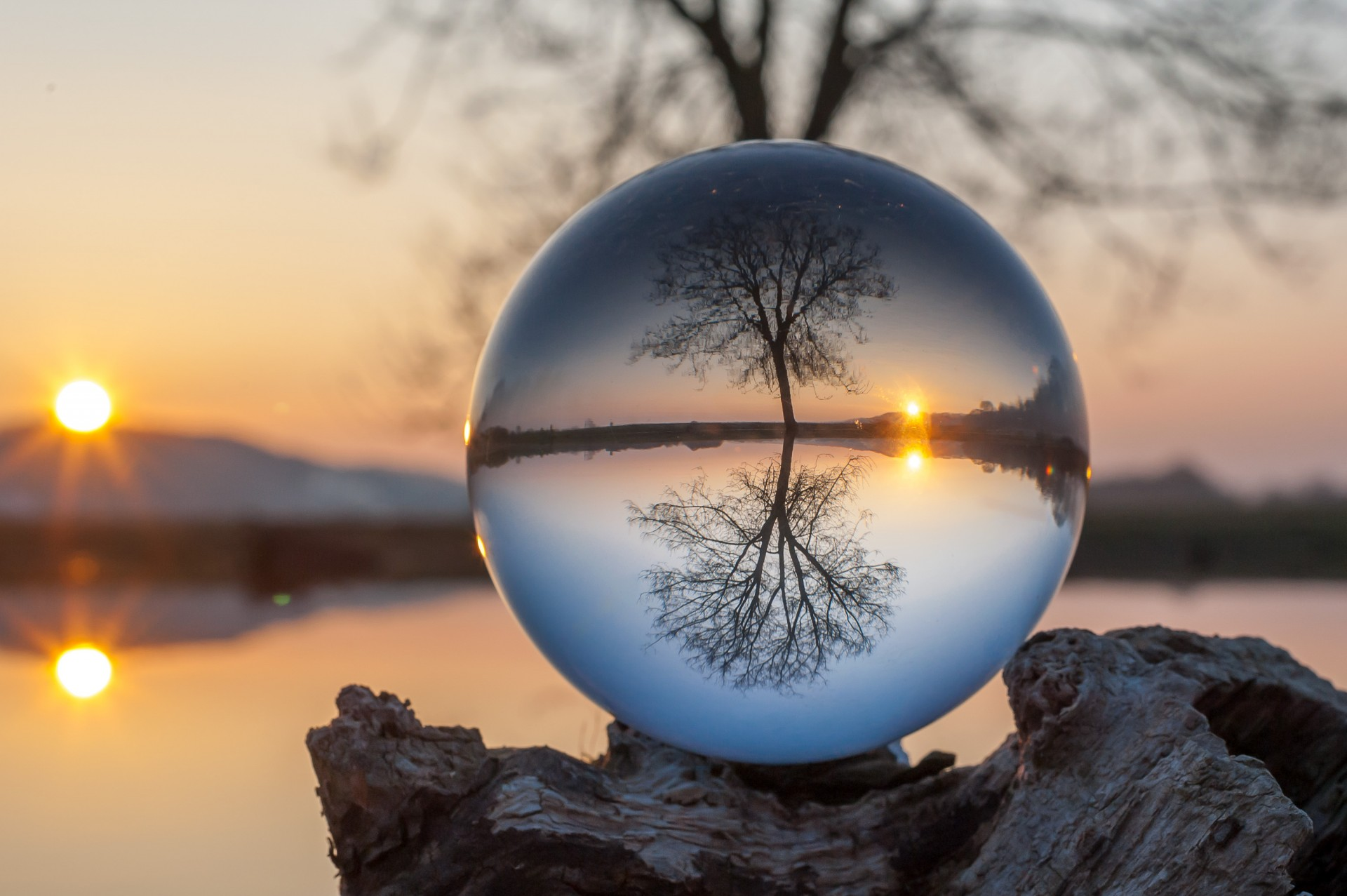 Glass ball project — photographer andrius aleksandravičius