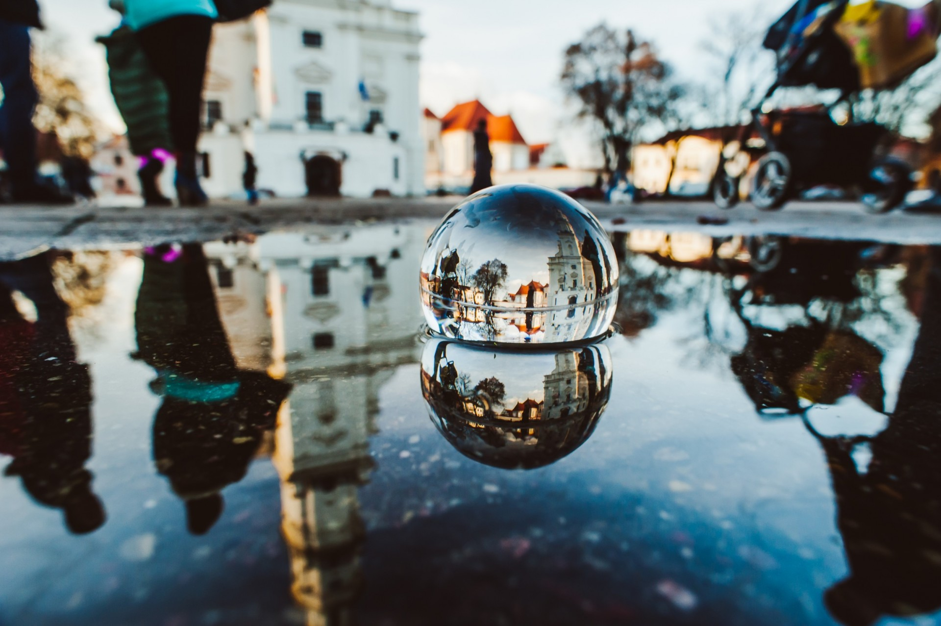 Nikon Glass Ball Project